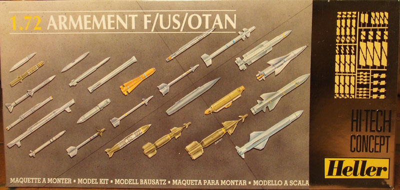 ARMEMENT F/US/OTAN 1/72 Réf 80510 [Heller] Heller-missiles01